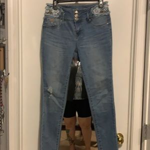 Sexy Couture Colombian Jeans size 7 Preowned